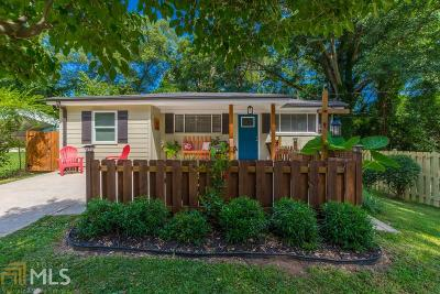 Hapeville Single Family Home New: 485 Oak Dr
