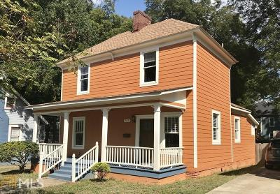Atlanta Single Family Home New: 492 Lawton