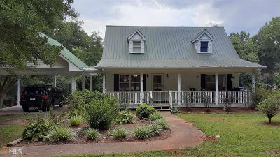Habersham County Single Family Home New: 3090 Mud Creek