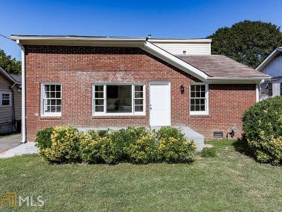 Atlanta Single Family Home New: 638 Albert St
