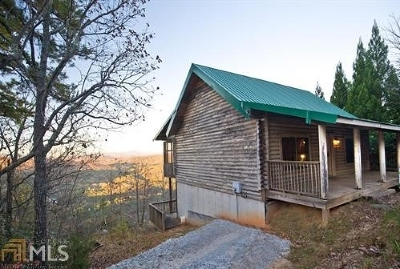 Rabun County Single Family Home New: 312 Tallulah View