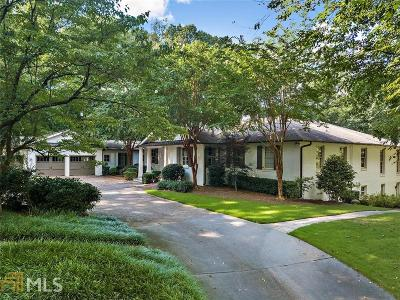 Atlanta Single Family Home New: 539 W Paces Ferry Rd