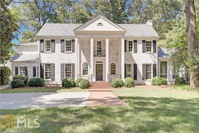 Atlanta Single Family Home New: 309 Peachtree Battle