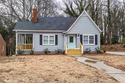 Atlanta Single Family Home New: 627 S Elizabeth