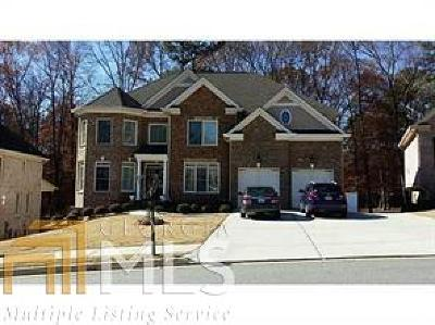 Suwanee Single Family Home New: 465 Deerwood Dr