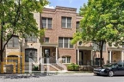 Atlanta Condo/Townhouse New: 724 Cosmopolitan Dr