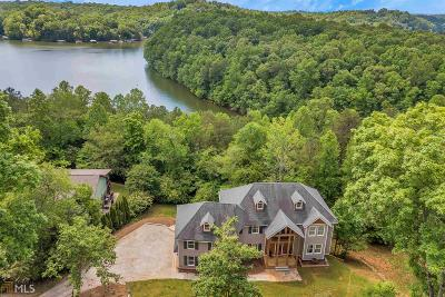 Dawsonville Single Family Home New: 287 Moss Overlook Rd