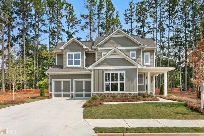 Acworth Single Family Home New: 124 Oakdale Woods Ln