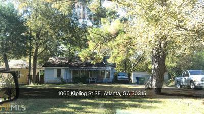 Atlanta Single Family Home New: 1065 Kipling St