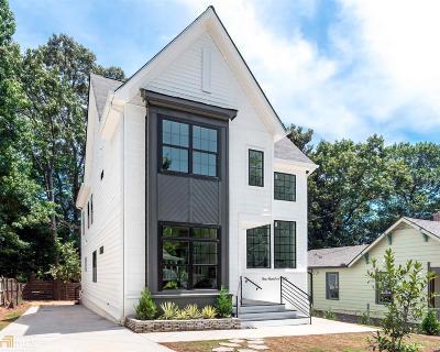 Atlanta Single Family Home New: 150 SE Dahlgren St