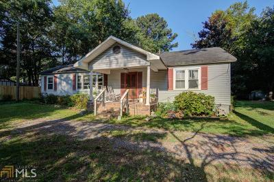 Fulton County Single Family Home New: 12480 Hopewell Rd