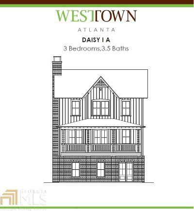 Atlanta Single Family Home New: 916 Martin Street NW #109