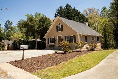Buford Single Family Home New: 2843 Merritt Dr