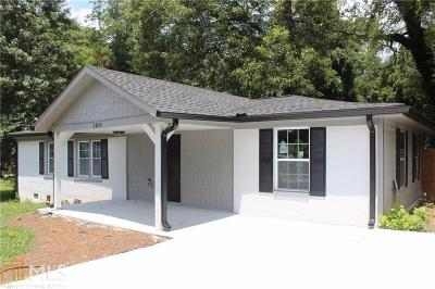 Atlanta Single Family Home New: 2169 Wingate St