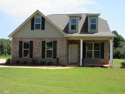 Butts County Single Family Home New: 129 Dub Walker Rd