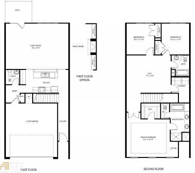 Atlanta Condo/Townhouse New: 399 Mulberry Row #2705