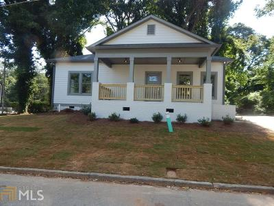 Atlanta Single Family Home New: 1252 Sells Avenue SW