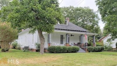 Winder Single Family Home For Sale: 11 W Kimball St