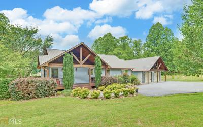 Hiawassee Single Family Home New: 7077 Upper Hightower Rd