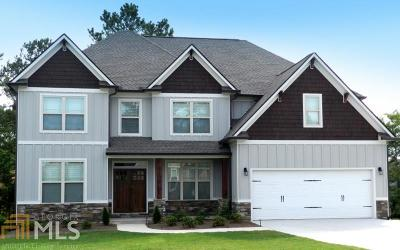 Cartersville Single Family Home New: 18 Brownwood Dr