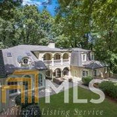 Sandy Springs Single Family Home New: 8970 Huntcliff Trce