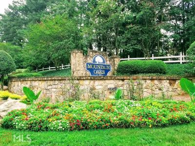 Stone Mountain Single Family Home New: 470 Mountain Oaks Pkwy #17