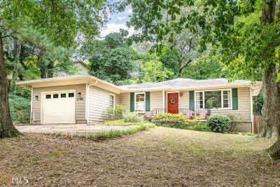 Fulton County Single Family Home New: 1790 Defoor Ave