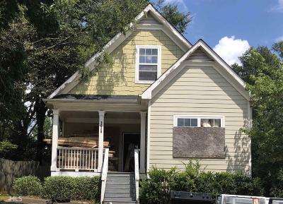 Atlanta Single Family Home New: 1020 Smith
