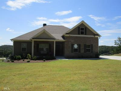 Dawsonville Single Family Home New: 253 Odgers Trl