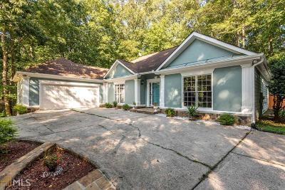 Suwanee Single Family Home New: 82 Oakwood Hills Drive