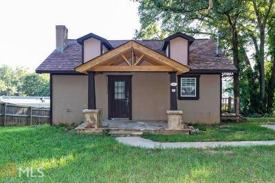 Austell Single Family Home New: 5805 Eastside Drive