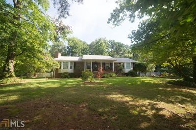 Douglasville Single Family Home Under Contract: 8951 Country Club Dr