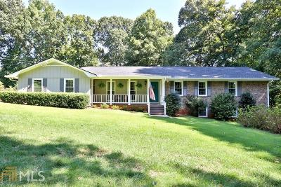 Kennesaw Single Family Home For Sale: 3960 Stilesboro Rd