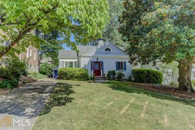 Atlanta Single Family Home New: 404 Princeton Way