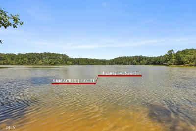 Newnan Residential Lots & Land For Sale: Highway 34 #Lot 21