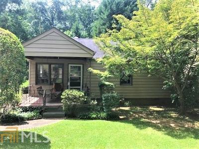 Decatur Single Family Home New: 150 Ridgeland Ave