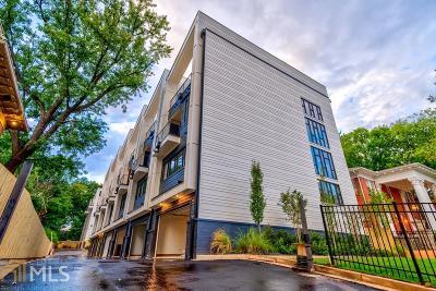 Atlanta Condo/Townhouse New: 910 Ponce De Leon Avenue NE #2