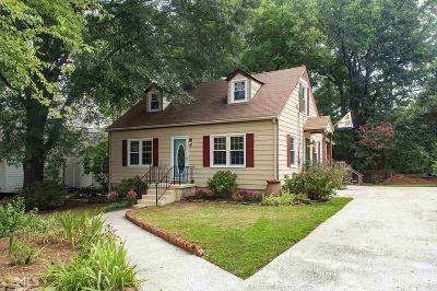 Decatur Single Family Home New: 767 Medlock Rd
