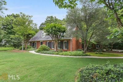 Marietta Single Family Home For Sale: 748 Sharp Mountain Creek