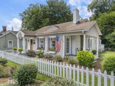 Marietta Single Family Home New: 323 Cherokee Street NE