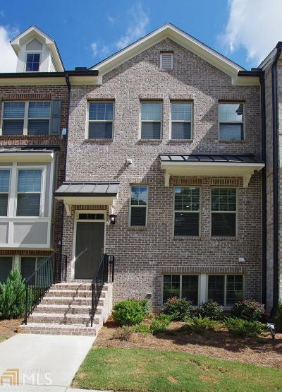 Atlanta Condo/Townhouse New: 1817 Hislop Lane