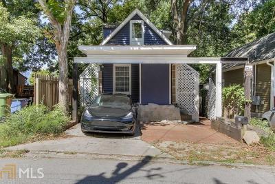 Atlanta Single Family Home New: 1018 Curran Street NW