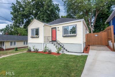 Atlanta Single Family Home New: 985 Fair
