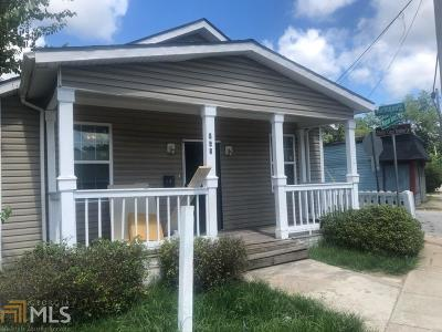 Atlanta Single Family Home New: 948 Mayson Turner Road NW