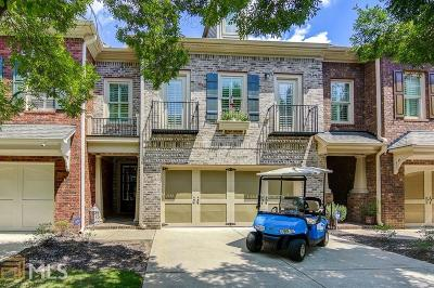 Peachtree City Condo/Townhouse For Sale: 72 Star Spangled Ln