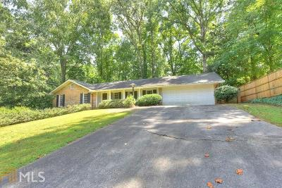 Vinings Single Family Home For Sale: 4201 Brookview Dr