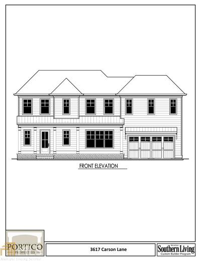 Smyrna Single Family Home For Sale: 3617 Carson Ln
