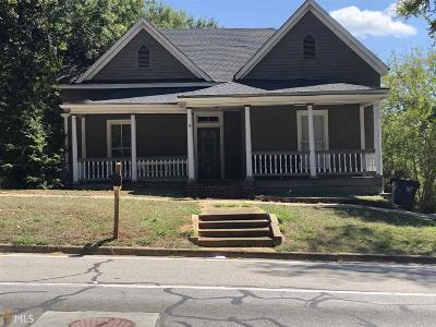 Haddock, Milledgeville, Sparta Single Family Home For Sale: 231 N Elbert St