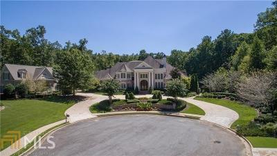 Roswell Single Family Home For Sale: 4055 Heatherwood Way