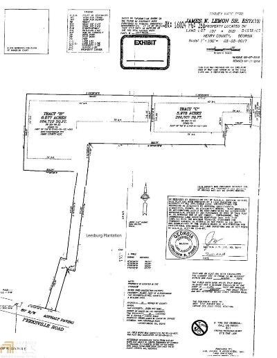 Locust Grove Residential Lots & Land For Sale: Peeksville Rd